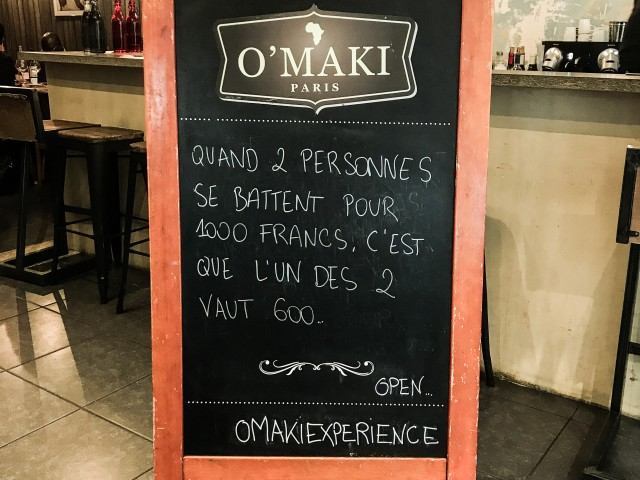 O'MAKI